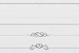 разделительные линии в html