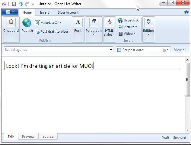 альтернатива windows live writer
