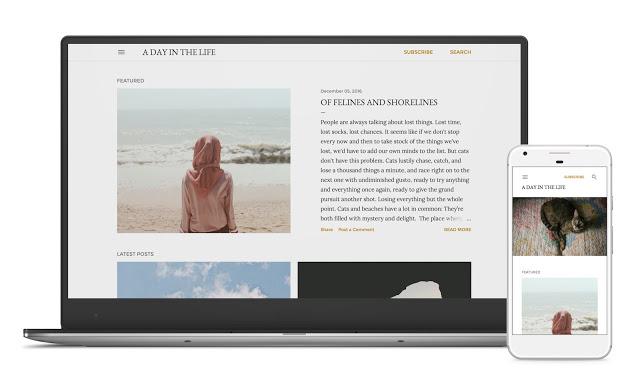 SOHO тема блоггер